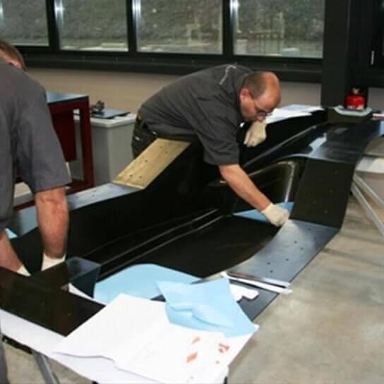 Prodotti fibra di vetro Deposizione manuale